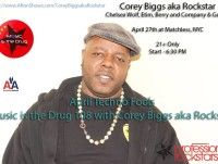 April Techno Fools - Music Is The Drug 108 - Corey Biggs Aka Rockstar