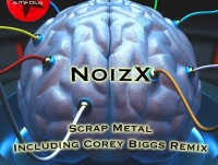 MITD14 - NoizX - Scrap Metal - Artwork